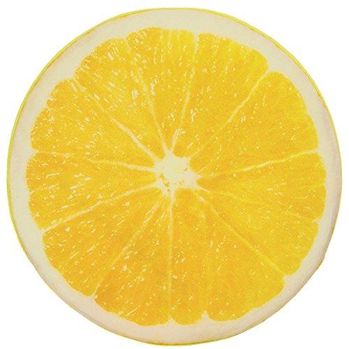 Sitzkissen / Kissen Zitronen-Scheibe, 38 cm