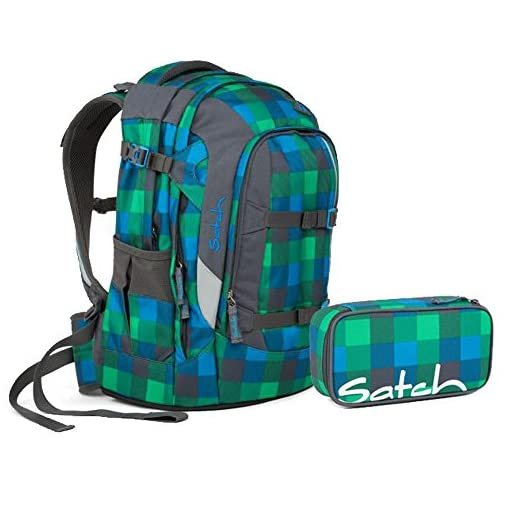 1734b07be0a4f Satch Pack by Ergobag - 2tlg. Set Schulrucksack (+SchlamperBox Etui) - Hip