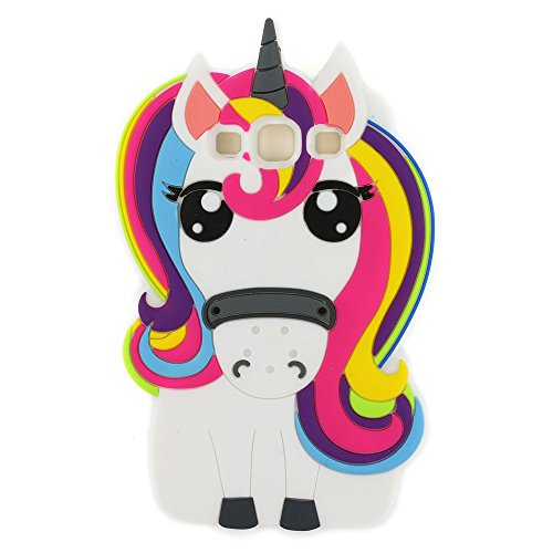 Galaxy S3Fall, 3D Cute Cartoon Rainbow Einhorn Pferd Tier Soft Silikon Protector Haut Case Cover für Samsung Galaxy S3S III i9300