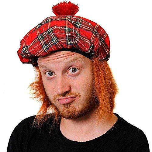 1aca56c3d4984 6X TAM o   sombrero con pelo FANCY boina escocesa e instrucciones para  hacer vestidos escocés