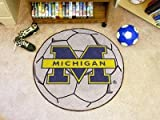 Fanmats 3408 University of Michigan Fu-ball Rug