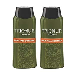 Trichup Hair Fall Control Herbal Hair Shampoo, 200ml (Pack of 2)