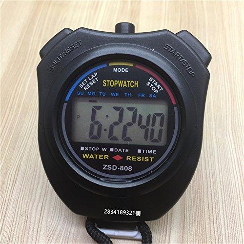 TrifyCore Cronógrafo Digital Cronómetro Mano LCD