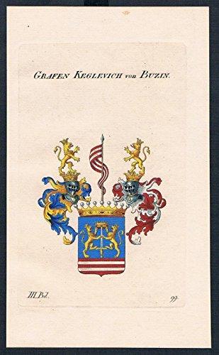 grafen-keglevich-von-buzin-wappen-kupferstich-genealogie-heraldik