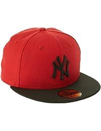 New Era Diamond Seasonal NY Yankees Gorra 7 1/4 scarlet