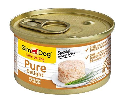 GimDog Pure Delight, pollo - Snack rico en proteínas en deliciosa gelatina...