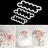 Oyedens DIY Kuchen Backen Maker Dekorieren Werkzeuge Zubehör 3D Rose Blume Cutter Mould Zucker...