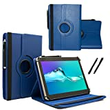 MP Man Android Tablet MPQCG77 - Tablet Case Schutzhülle mit Touch Pen & Standfunktion - 360° Blau 7 Zoll