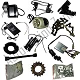 #7: Automation Zone My1016Z2 24V 250W Motor Electric Bicycle Kit / Diy Ebicycle Kit (Silver)