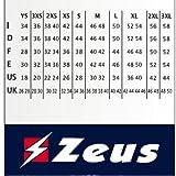 ZEUS ZAINO QUBO BORSA CALCIO CALCETTO PISCINA SPORT 33 X 22 X 50 cm (ROYAL)