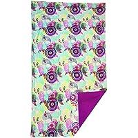 Textil Tarragó Mariposas Toalla Pareo para Piscina, Poliéster, 27x38x3 cm