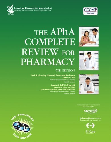 The APHA Complete Review For Pharmacy (Gourley, Apha Complete Review for Pharmacy) by Dick Gourley PharmD (editor) (2007-12-14)