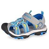 Gloria JR Kinder Outdoor Athletic Sandale F¨¹r Jungen Kinder (27 EU (9 UK Child=17 CM), Blau(Blue))