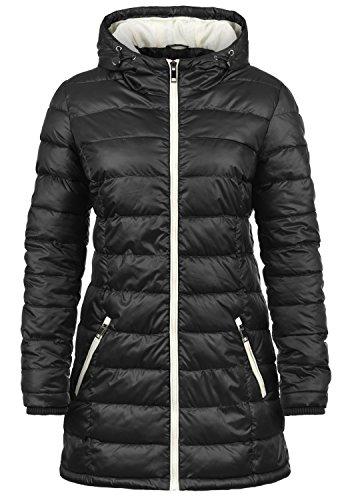 DESIRES Dori Damen Steppmantel Daunen-Jacke mit Kapuze aus hochwertigem Material, Größe:XXL, Farbe:Black (9000)