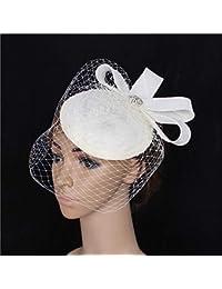 Cappello Fascinator elegante vintage Accessori per capelli da cerimonia  nuziale del cappello di Fascinator della piuma ac90c8aa0141
