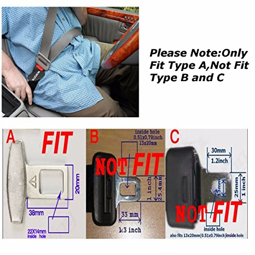 audew ceinture de s curit rallonge de ceinture seatbelt extender voiture si ge avant. Black Bedroom Furniture Sets. Home Design Ideas