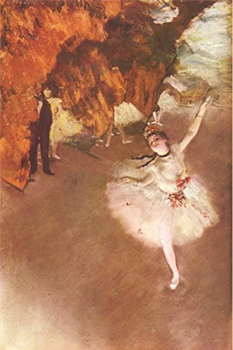 Degas: L'Etoile: The Star Dancer on Stage, Impressionism Art, College Ruled Blank Lined Writing Journal par Envision Journals