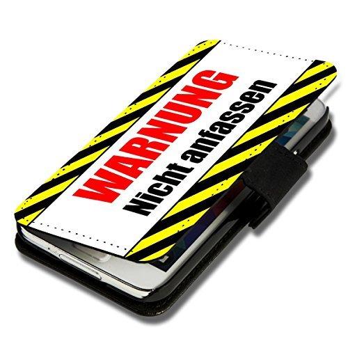 Book Style Handy Tasche - Design WD51 - für ZTE Blade L3 - Cover Case Schutz Hülle Etui Schutzhülle - (Bulk)