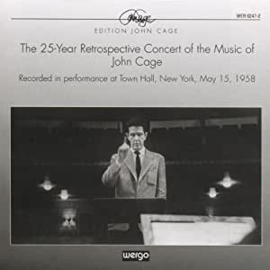 Cage: Concert recorded in New York (May 1958)