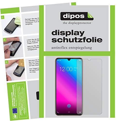 dipos I 6X Schutzfolie matt passend für Vivo V11 Folie Bildschirmschutzfolie