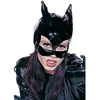 Halloween Karneval Party Kostüm Damen Vinyl Katzenmaske Catwoman