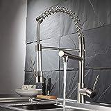 Fapully Küchenarmatur Küche Wasserhahn Armatur Spültischarmatur Badarmatur Einhebelmischer Geschirrbrause