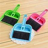 Sukisuki Mini Plastic Hand Kitchen Dustpan Brush Set Kids Cleaning Sweeper Pretend Play Toys