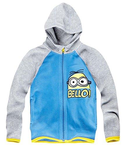 Minions Despicable Me Jungen Polar Fleece Jacke - blau - 128