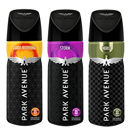 Park Avenue Body Deo, 100g (Buy 2 Get 1 Free, Good Morning...