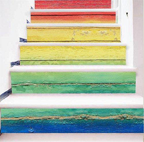 Bkph adesivi per scale per corridoi scale per restauro scale adesive per scale in legno color legno