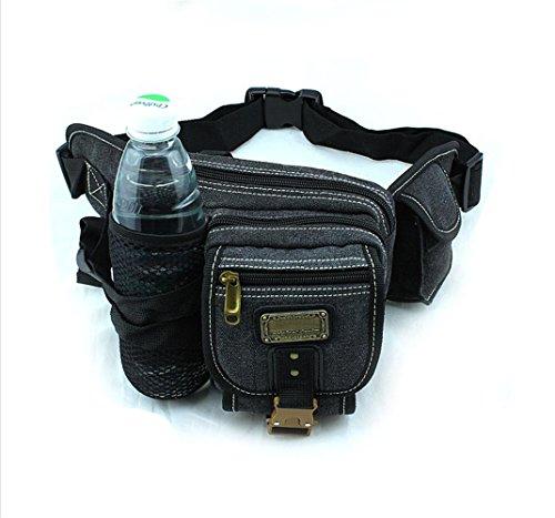 BUSL Wandern fanny Männer und Frauen im Freienbergtasche mit großer Kapazität Reisewasserkocher Reit Taschen Eintritt Paket Lauf Telefon-Packs B