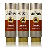3x Monin Caramel Sauce 500 ml - Caramel Flavoured Sauce