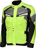 Scott Storm Motorrad Jacke gelb/schwarz 2018: Größe: L (50/52)