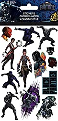 Trends International Marvel Black Panther - 4 Sheet Sticker Pack