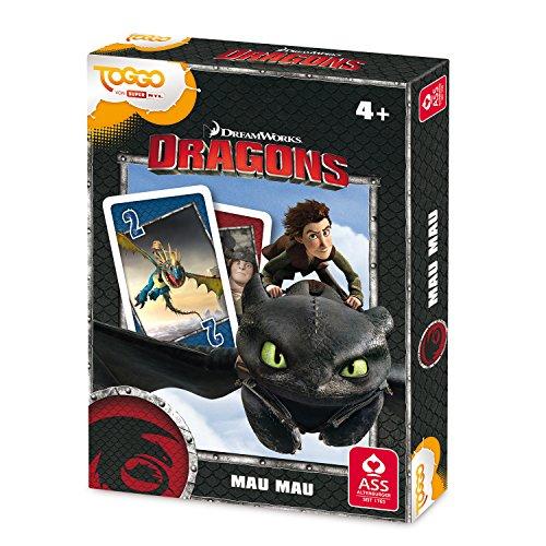 Preisvergleich Produktbild ASS Altenburger 4042677050021 - Kartenspiel - Dragons - Mau Mau