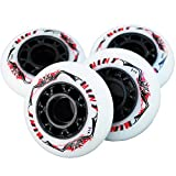 8 St. Mint Inline Skate Race Speed Rollen - 70mm 84 A - High Rebound!