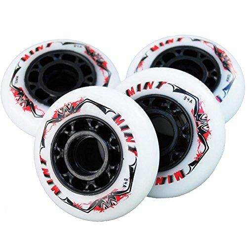 8 St. Mint Inline Skate Race Speed Rollen - 70mm 84 A - High Rebound!