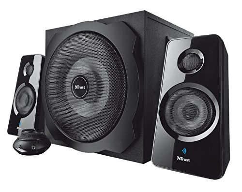 Trust Tytan 2.1 - Set de Altavoces (Bluetooth, inalámbrico, 2.1, subwoofer de...