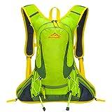 SHTH Wasserdicht Fahrrad Schulter Rucksack Wasser Reisetasche Ultralight für Radsport Outdoor Reiten Bergsteigen Hydration ,44*25*10cm,15L