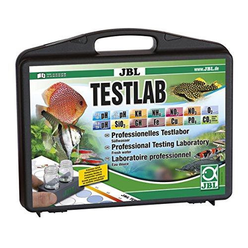 JBL Testkoffer mit 12 Tests zur Süßwasseranalyse, Testlab 25502