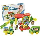 millaminis My First Garden - Spielzeug ab 2 Jahren - Kleinkind Spielzeug für Zuhause, Garten, Sandkasten und Wasser - Blumengeschäft