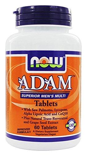 Adam - 60 comprimes - Now foods