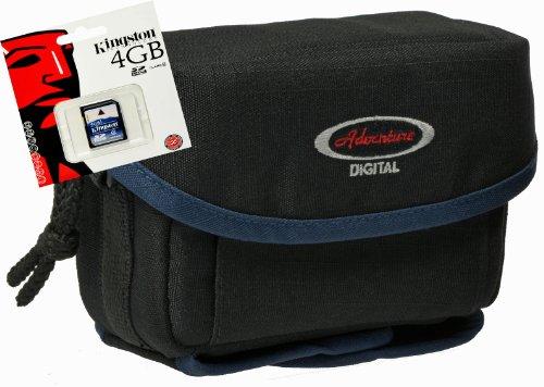 dventure QUER Set mit 4GB SD Karte für Powershot Canon SX620 sx620 SX600 S200 G9x ()