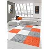Suchergebnis Auf Amazon.de Für: Orange - Teppiche / Teppiche ... Wohnzimmer Orange Schwarz