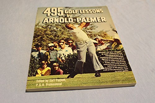 495 golf lessons by Palmer, Arnold (1973) Paperback