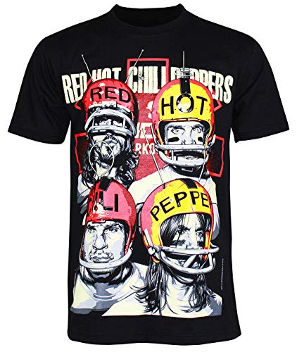 Unisex's Red Hot Chili Peppers Asterisk T-Shirt (Black, L)