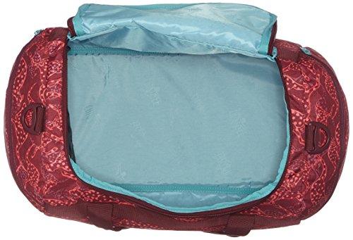 Chiemsee Reisetasche Sporttasche Matchbag Medium, schöne leichte trendige Reisetasche/Freizeittasche mit Schuhfach Rot (Cangoobatik)