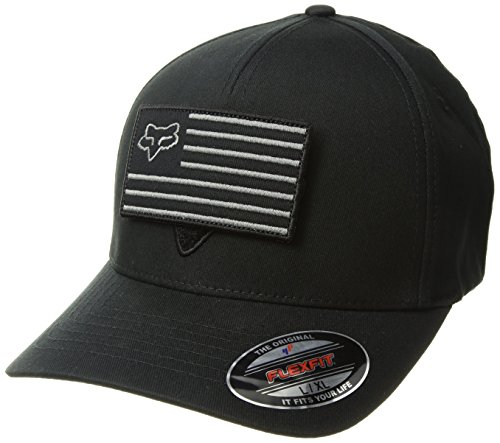 Fox Flexfit Cap Placate Schwarz Gr. L/XL