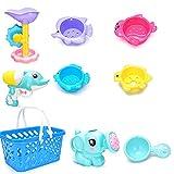 Xiton Baby Kind Wasserpistole Dusche Spray Bad Klassische Schwimmbad Spielzeug Strand Spielzeug (Farbe Zufällig / 9 stücke)