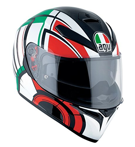 AGV Casco Moto K-3SV E2205Multi plk, Avior blanco/Italia, S